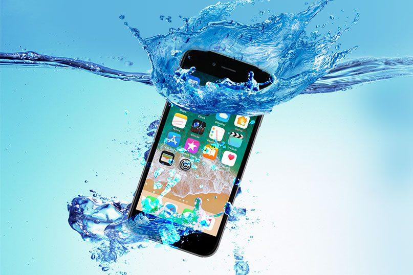 How to fix an iPhone from water damage quickly?