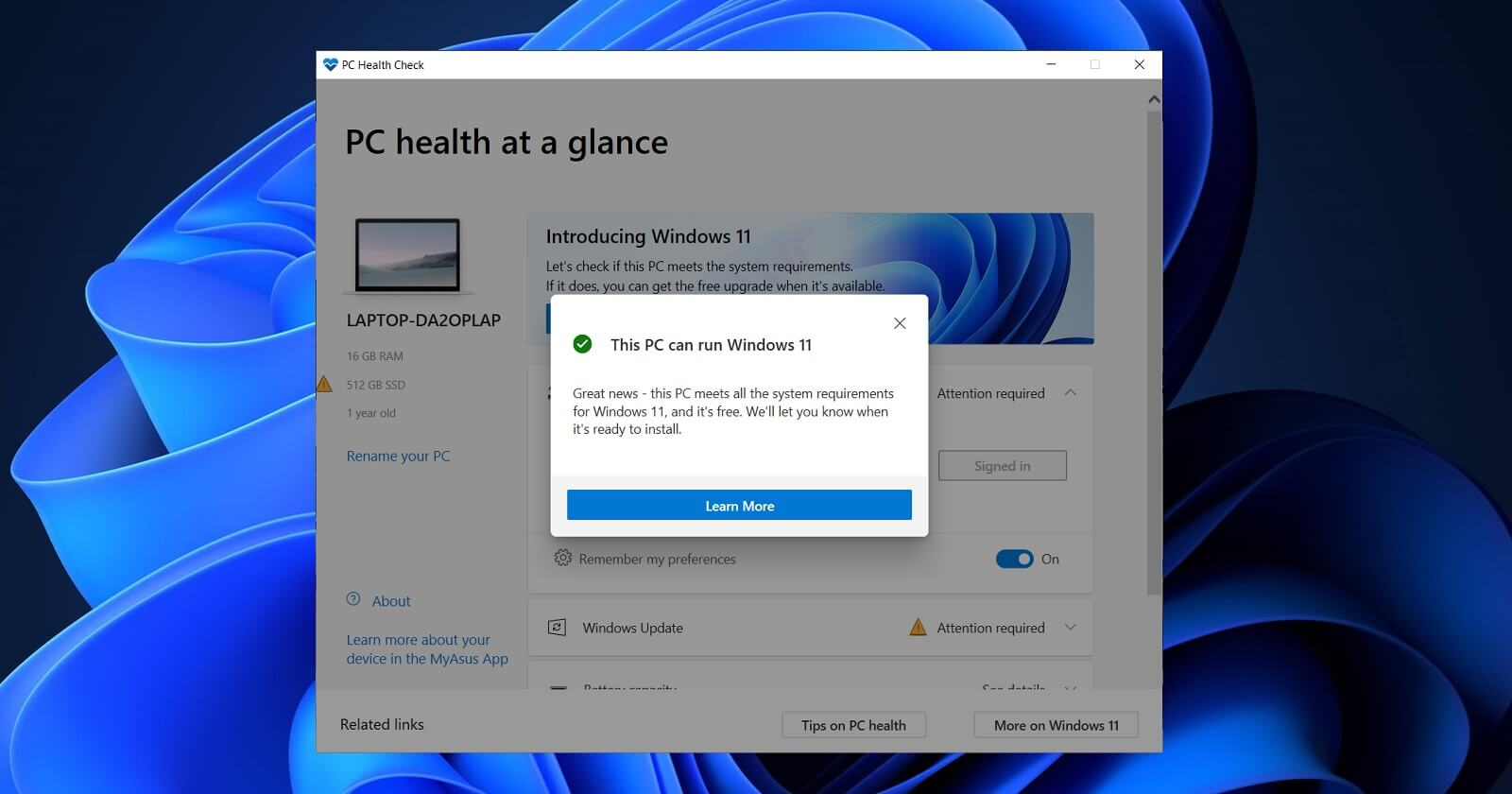 how to check if your pc or laptop supports windows 11
